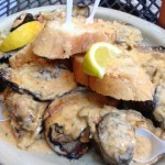 Oceana's grilled oysters