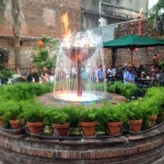 Pat O's Fire Fountain