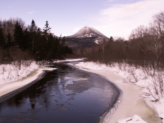Katahdin in Winter