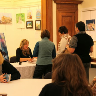 Library Book Signing