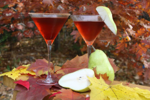 Autumn Pear Martini